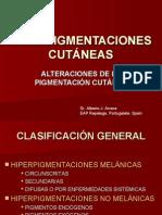HIPERPIGMENTACIONES CUTÁNEAS