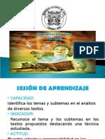 Macroestructura Textual Univ. El Santa