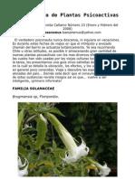 Guía Rutera de Plantas Psicoactivas