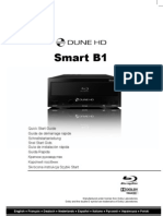 Dune HD Smart B1 Quick Start Guide