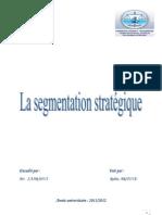 1- Segmentation Stratégique