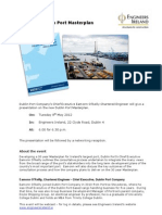 The New Dublin Port Master Plan