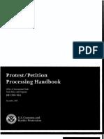 CBP's Protest:Summons Handbook