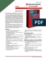 Fire Lite Honey Well) MS-25 Data Sheet - Df-60610-1