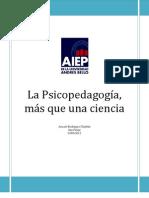 Rodríguez, Araceli. Psicopedagogía, más que una ciencia