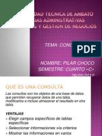 Presentacion Consultas Access Pilarchoco
