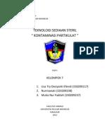 Makalah Tehno Steril Klp.7