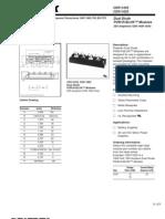 Datasheet Diodo 250 Amperes Powerex