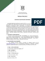 Edital 08 12 CCT Prof