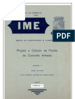 Pontes de Concreto Armado - Notas de Aula Prof. Areias Neto - Cap. I