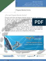 Internet Satelital Pegaso Banda Ancha