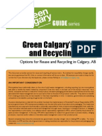 Calgary Recyle Guide