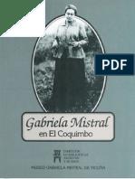 Gabriela Mistral en El Coquimbo
