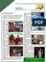 Boletin 46 Regreso de Pastor Misionero de El Salvador a Nov 2008