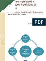 Español-América-lenguas