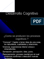 Desarrollo cognitivo 2012