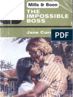 The In Possible Boss - Jane Corrie