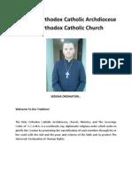 Seeking Ordination...