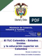 El Tlc y La Educacion Superior en Colombia