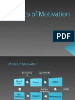 Basics of Motivation