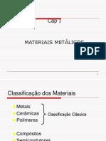 CAP I Materiai Métalicos- Ligas Ferrosas