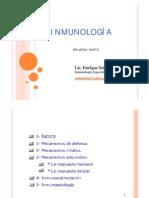 CLASE 001 - Inmunologia Especial 1