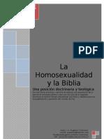La Biblia y La Homosexualidadm