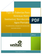 Sistema Hidro Sanitario_Recoleccion Agua Pluviales