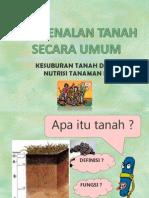 Pen Gen Alan Tanah Secara Umum (2009)
