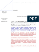 Questionnaire Syndicats Directeurs 23 Mai Version Jlg Et PC