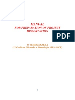 MBA Project Guidelines[1]