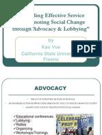 Advocacy Power Point - Kau Vue