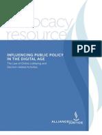 Digital Age Public Policy