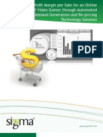 Automated Marketplace Demand Generation and Re-Pricing Technology Solution | Sigma Infosolutions