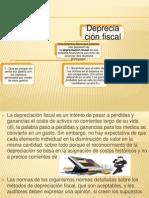 Depreciación fiscal