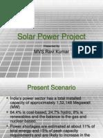 Solar Power Project_Ravi