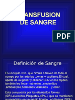 4.4 Alternativas de la Transfusión