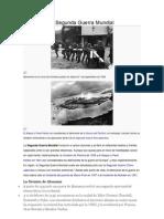 Causas de La Segunda Guerra Mundial