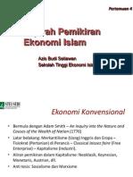 4. Sejarah Pemikiran Ekonomi Islam-New