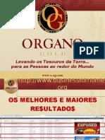 Organo Gold apresentação e pre cadastro