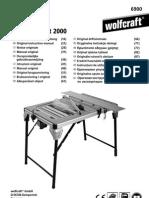 Wolfcraft MasterCUT 2000 - 6900