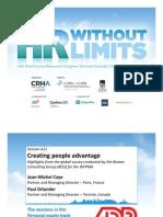 A11 Creating People Advantage