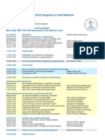 11th World Congress in Fetal Medicine