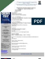 programa CICOM 2012