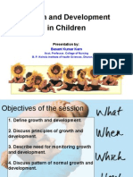 Growth and Development of Child