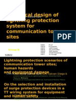 Lightning Protection Scenarios of Communication Tower Sites_final