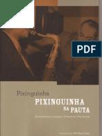 livro arranjos Pixinguinha