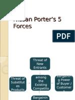 Nissan 5 Forces Presentation
