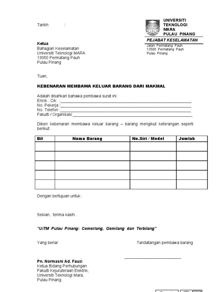 82 Info Contoh Surat Jalan Pengeluaran Barang Doc Pdf Zip