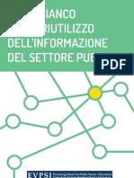 Libro bianco EVPSI per il riutilizzo dell'informazione del settore pubblico